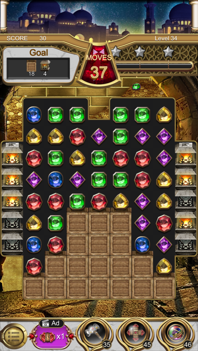 Jewels Magic Lamp screenshot 3