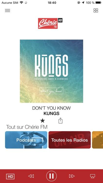 Chérie FM Radio screenshot-0