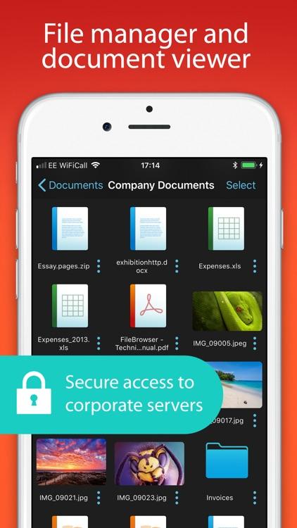 FileBrowser for Business screenshot-0