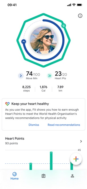 Google Fit – Activity Tracker Screenshot
