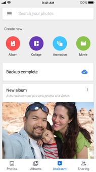 Google Photos iphone images
