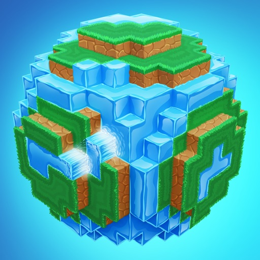 World of Cubes Survival Craft iOS App