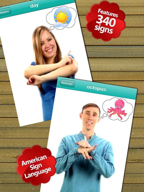 Baby Sign Dictionary ASL-ipad-0