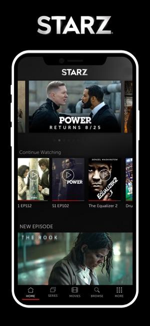 STARZ on the App Store