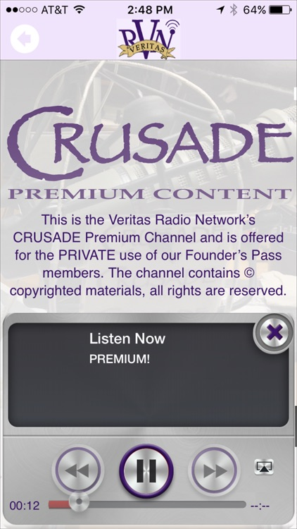 CRUSADE Channel Radio