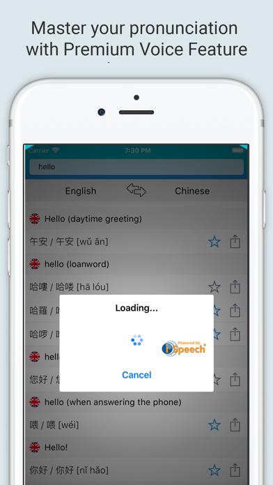 English Chinese Dictionary + screenshot 4