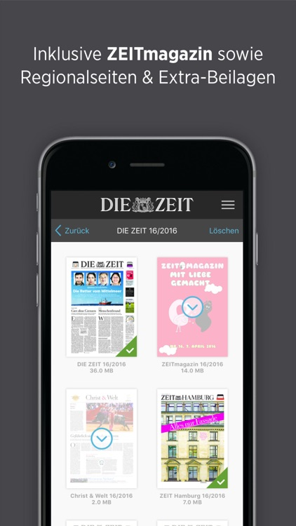 DIE ZEIT E-Paper screenshot-4