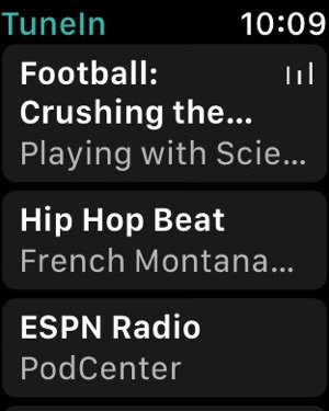 TuneIn Radio Screenshot