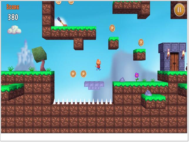 Bomber Cat Run, game for IOS