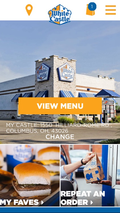 White Castle Online Ordering