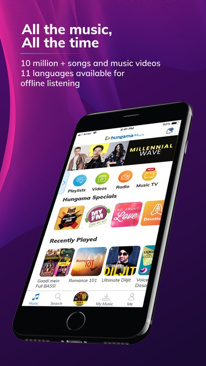 Hungama Music - Songs & Radio screenshot-0