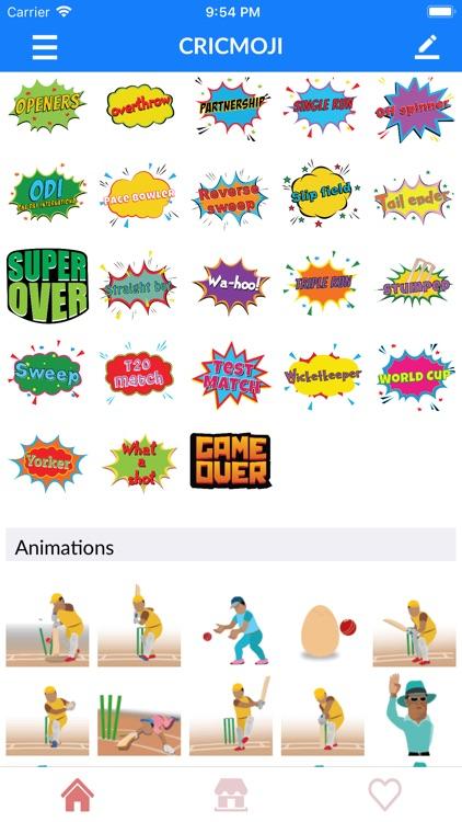 IPL Cricket Emoji Stickers screenshot-8