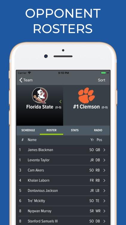 Clemson Football Schedules screenshot-7