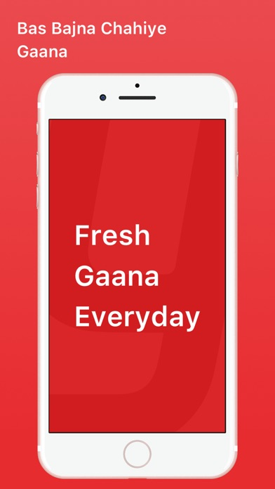 Screenshot for Gaana Music - Songs & Radio in Romania App Store