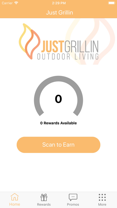 Screenshot for Just Grillin Rewards in Viet Nam App Store