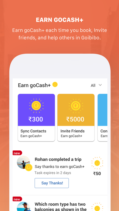 Screenshot for Goibibo in India App Store