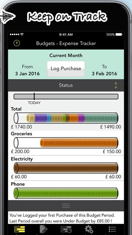 Budgets Pro - Expense Tracker screenshot-3