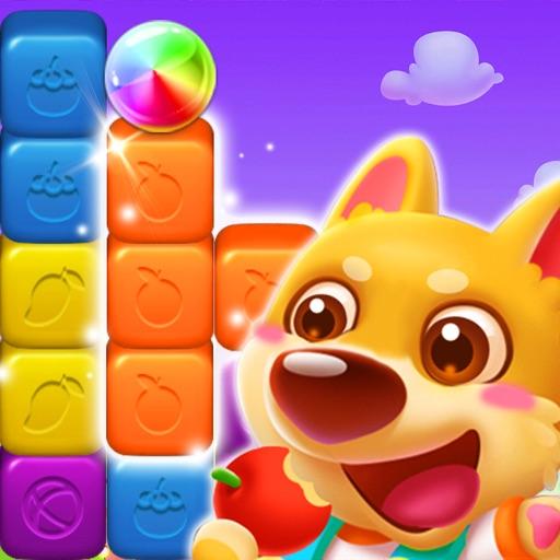 Puppy Cube Blast: Tap, Pop&Win Icon