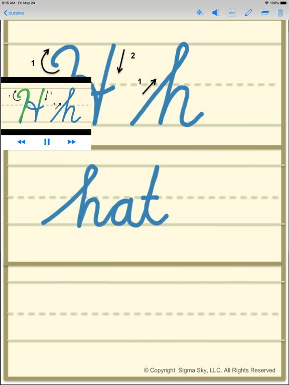 cursive screenshot 17