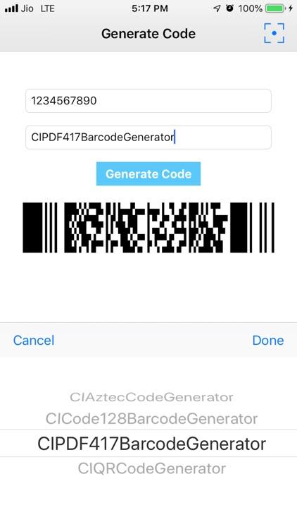 CodeGenerator&Scan-QR,Barcode screenshot-3