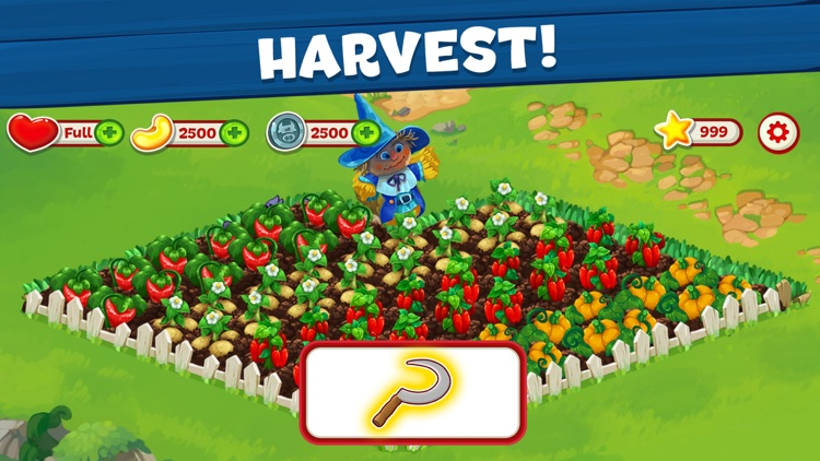 Wild Farm Match-3 Adventure