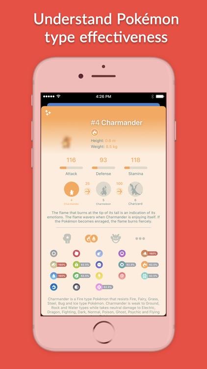 Pocketdex for Pokémon GO screenshot-4