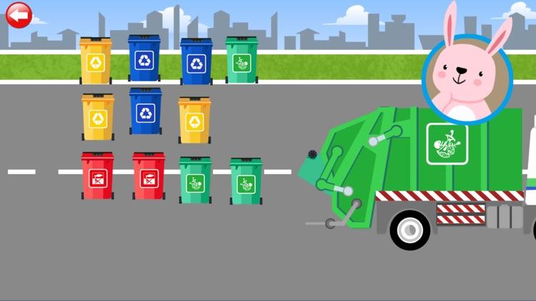 Garbage Truck: Clean Rubbish screenshot-4