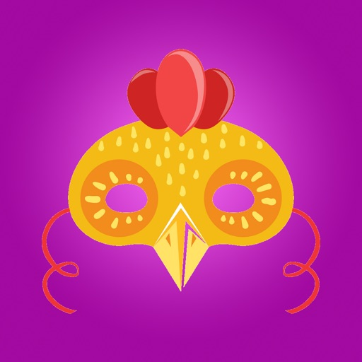 Queen Chicken Sticker