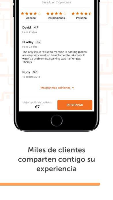 Screenshot for Parclick - Encontrar Parkings in Dominican Republic App Store