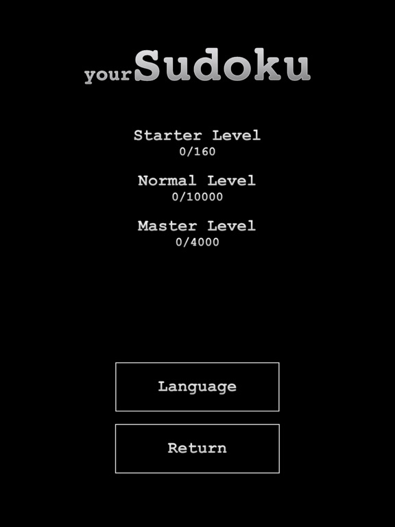 yourSudoku - Over 10k sudoku Screenshots