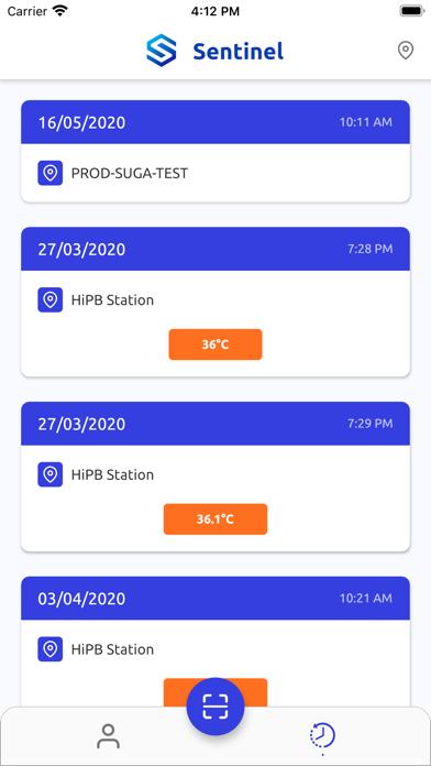 Sentinel - App screenshot 2