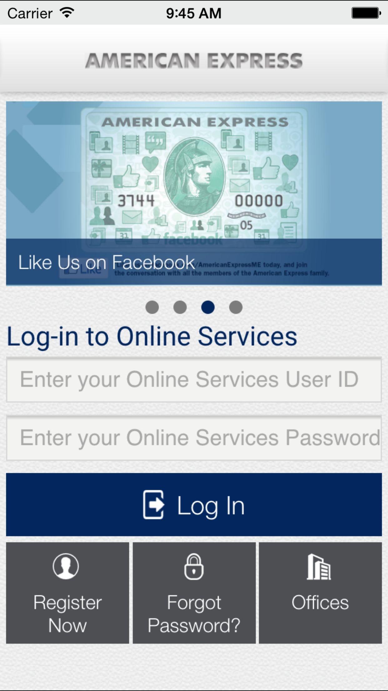 AMEX (Middle East) B.S.C. Screenshot