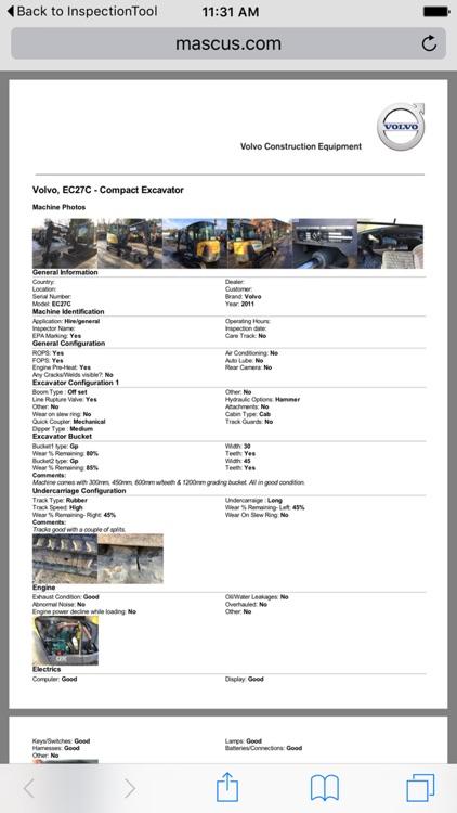 Volvo Used Inspection screenshot-3