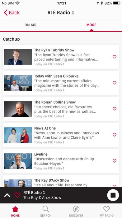 Irish Radioplayer screenshot four