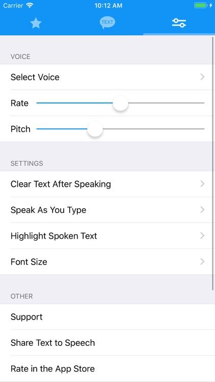 Text to Speech Pro screenshot-5