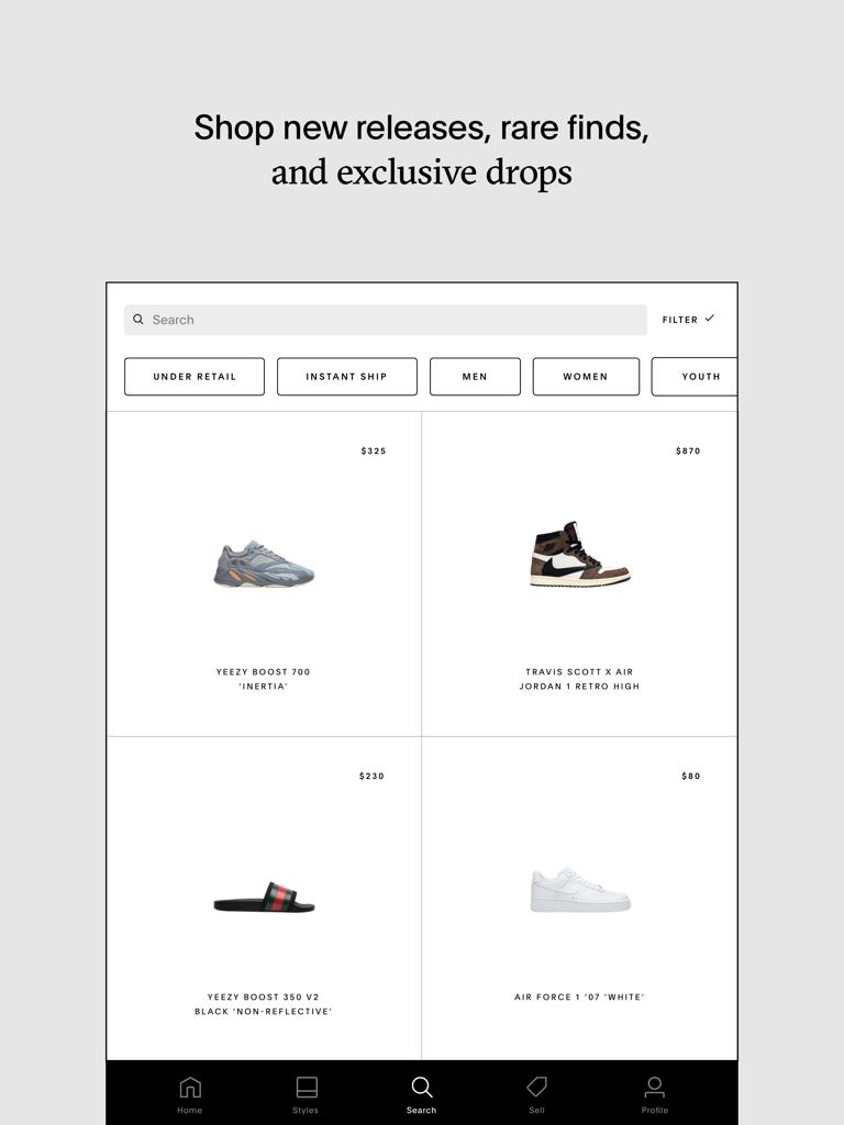 GOAT – Sneakers & Apparel - 1661, Inc.