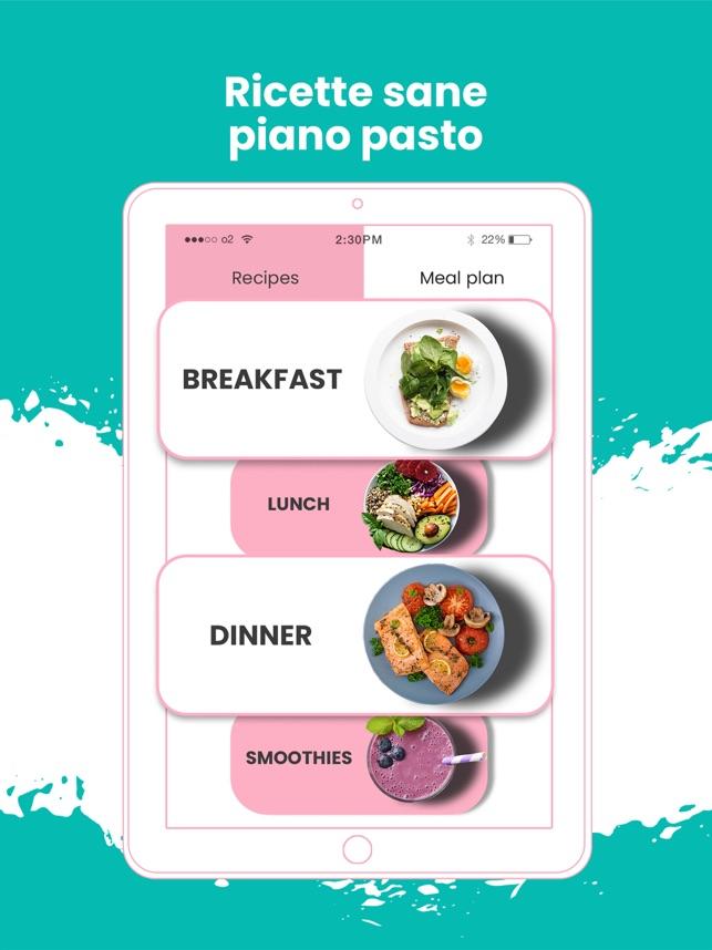 piano pasto gratuito per perdere peso e guadagnare muscoli