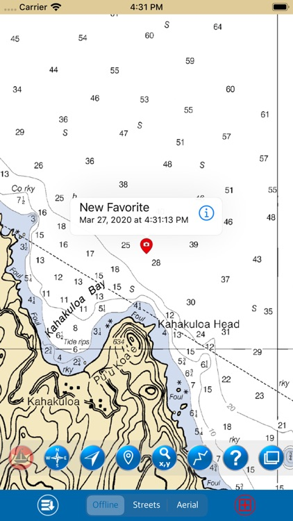 Maui-Lanai-Moloka'i Raster GPS screenshot-4
