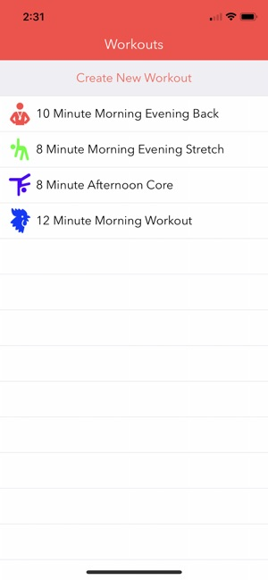 Workout Playlist Pro Screenshot