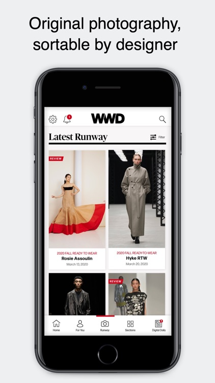 WWD: Women's Wear Daily