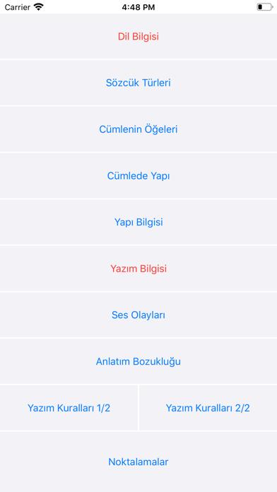 Dil Bilgisi screenshot 1