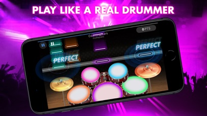 Drum Max - Real Drum Set screenshot 2