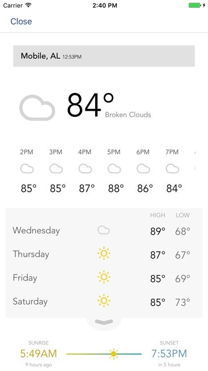 FOX10 Weather Mobile Alabama