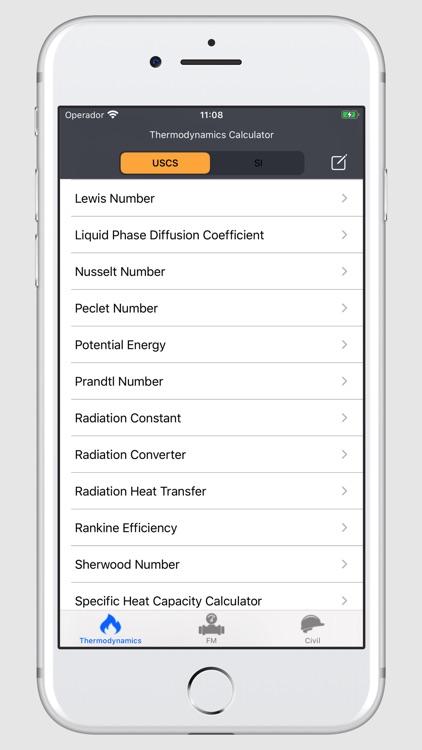 Thermodynamics Calculator screenshot-9