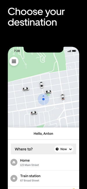 ‎Uber Screenshot