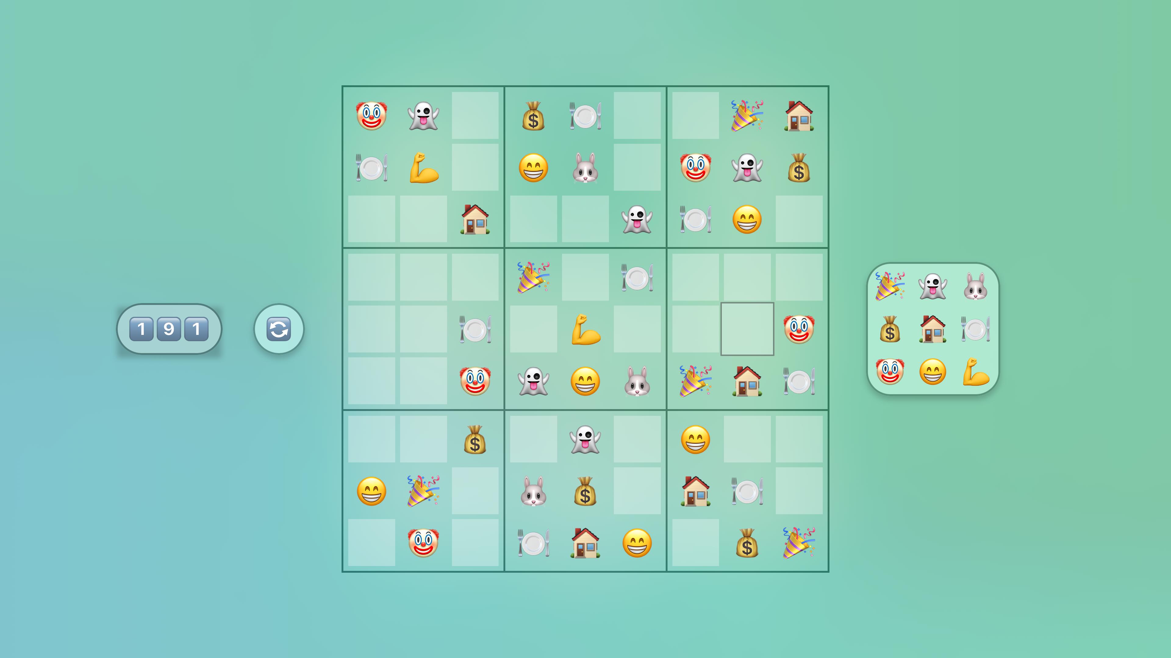 Jan's Emoji Sudoku screenshot 10