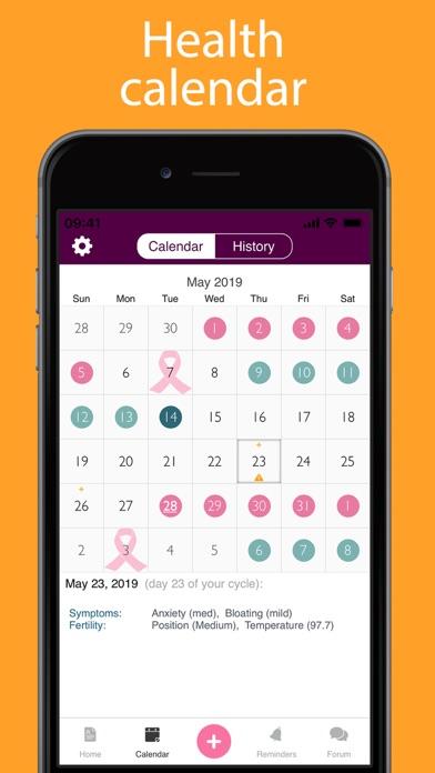 iPeriod Period Tracker + screenshot three