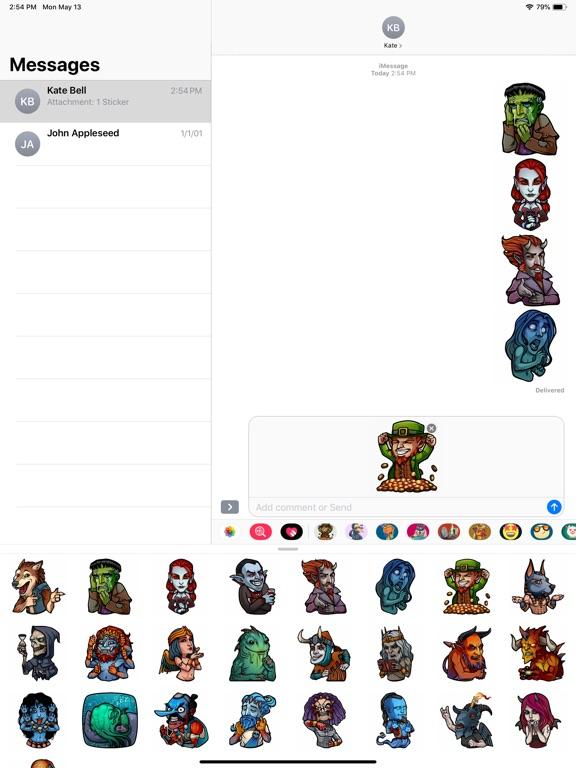 Myths and Legends Stickers screenshot 6