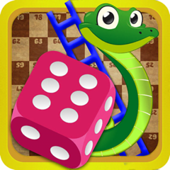 Snakes and Ladders Dice Game