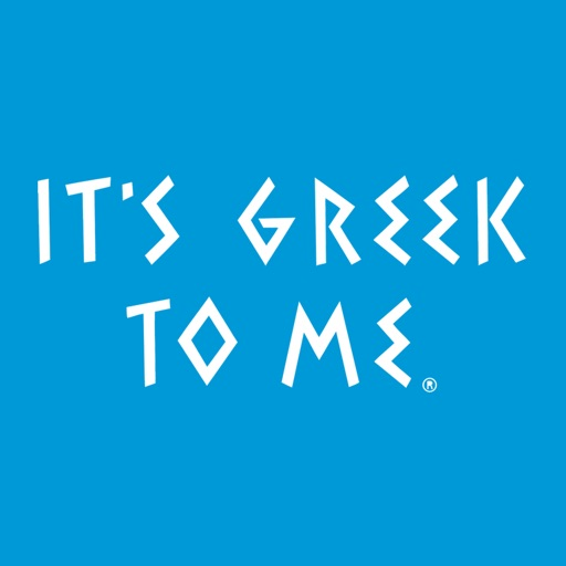 It's Greek To Me icon